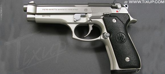 Pistolet Beretta : Arme à feu