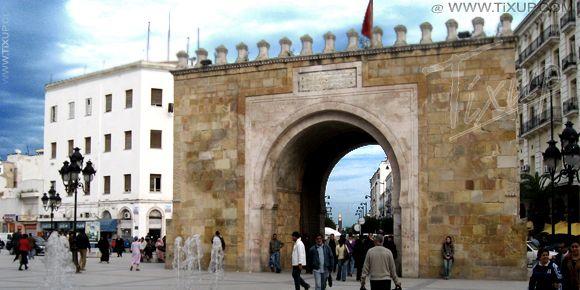 Tunis : Étals Anarchiques