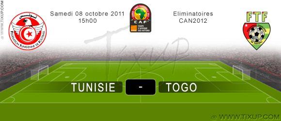 Tunisie Vs Togo - Éliminatoires CAN 2012