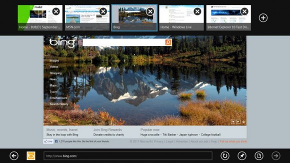 Windows 8 - Internet Explorer 10