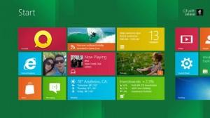 Windows 8 - interfaces pensée pour le tactile, de type Metro