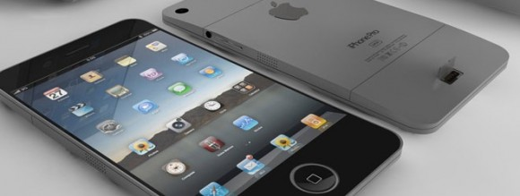 Concept de l'iPhone 5 d'Apple