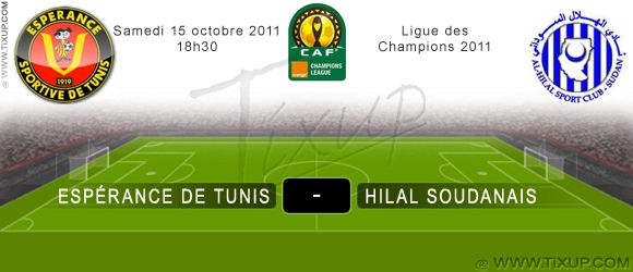 Esprance Sportive de Tunis - Hilal Soudanais