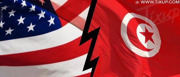 Flag : Tunisie - USA