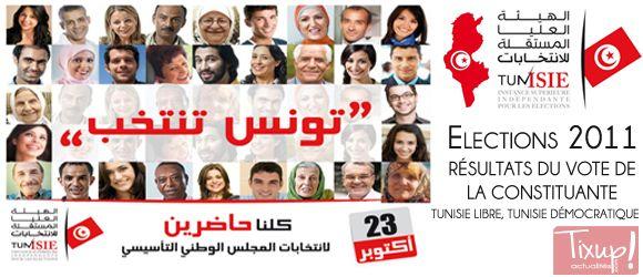Tunisie: Résultats des Élections de la Constituante