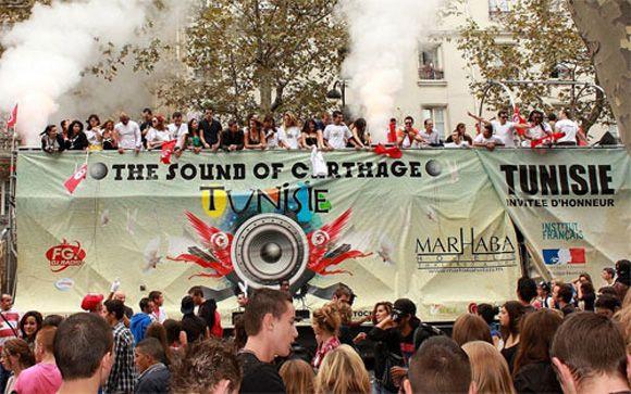 Techno Parade 2011 - La Tunisie est à l'honneur