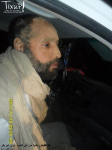 [Photos] Arrestation de Seif al Islam Kadhafi