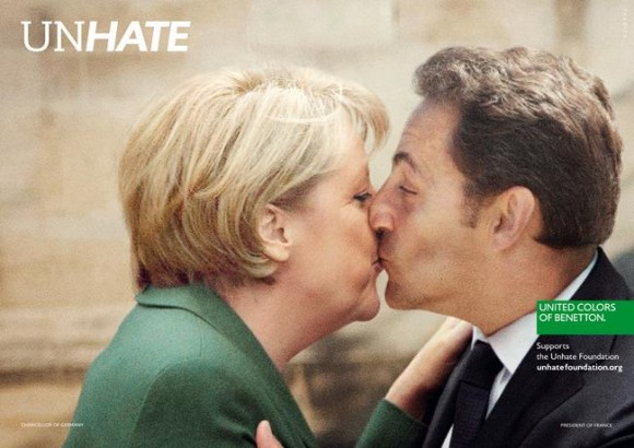 Angela Merkel (Chancelière allemande) - Nicolas Sarkozy (Président de la France)