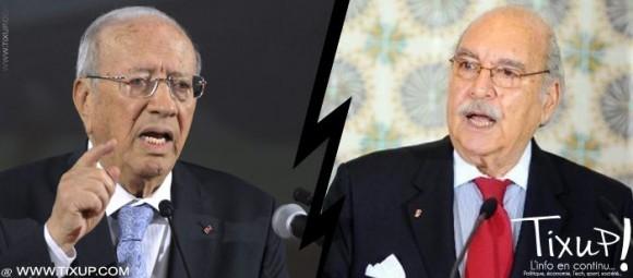 Béji Caïd Essebsi - Fouad Mebazaâ
