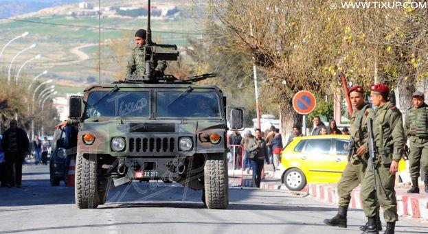 L'armée tunisienne déclare que la situation au sud tunisien est sous contrôle