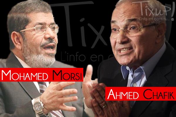 Mohamed Morsi - Ahmed Chafik