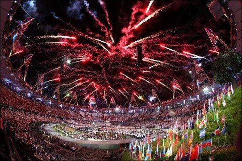 Ceremonie d'Ouverture des Jeux Olympiques - JO 2012