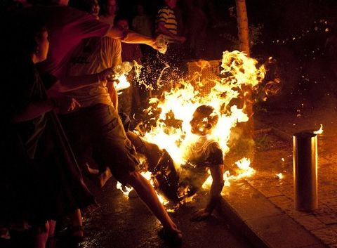 Immolation par le feu - israel - Suicide