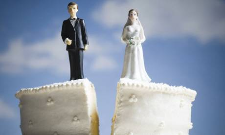 Mariage couple divorce