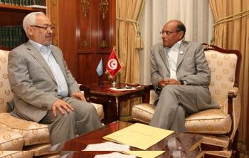 Moncef Marzouki - Rached Ghannouchi