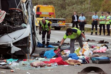 bus crash egypte