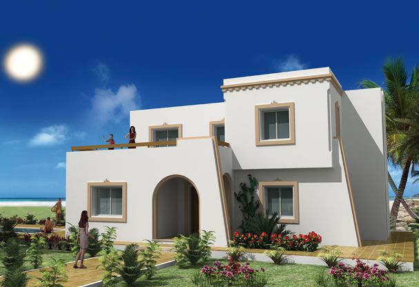 Modele de maison a construire en tunisie ventana blog - Exemple facon de entre villa en tunisie ...