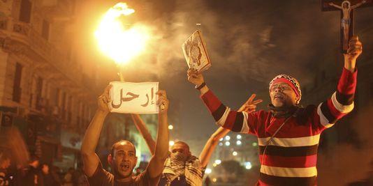 Heurts lors d'une manifestation anti-gouvernement en Egypte
