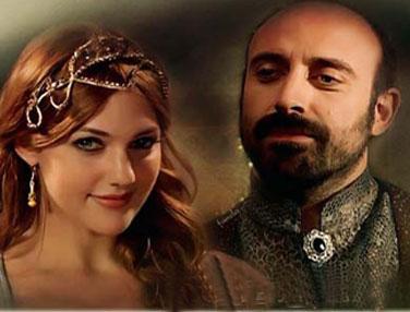 Les acteurs du feuilleton turc ''Harim El Soultane'' manifestent contre Erdogan
