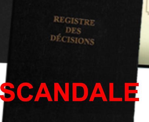 Scandale à l'Assemblée nationale constituante à cause d'un Registre de PV
