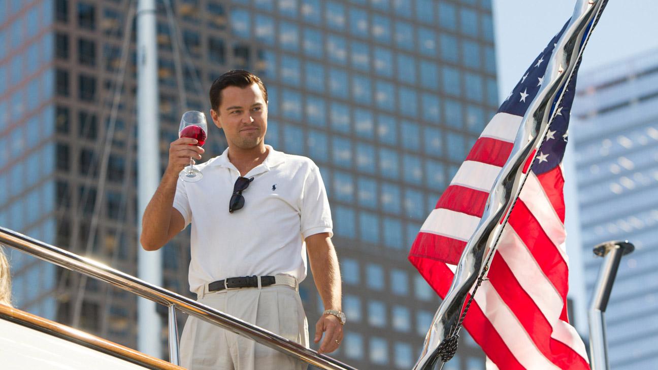 Wolf of Wall Street avec l'acteur Leonardo DiCaprio