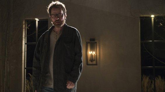 """Bryan Cranston dans le rôle de Walter White dans """"Breaking Bad"""" dans l'épisode finale"""