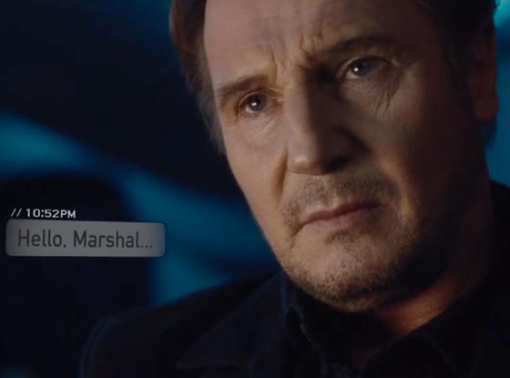 Liam Neeson dans le film Non-Stop