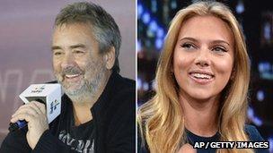Besson tourne son prochain film « Lucy » avec Scarlett Johansson