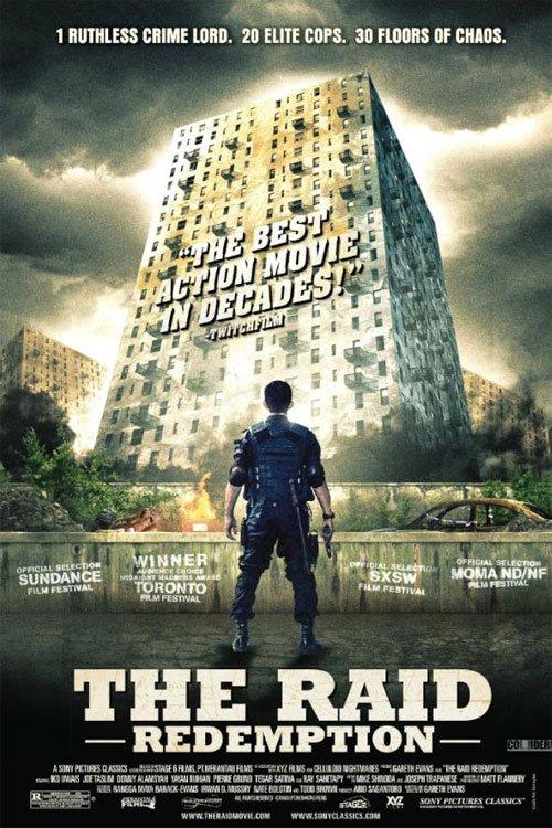Le premier raid a été publié en Mars 2012 par le CPS, après avoir été un succès au TIFF 2011 et SXSW 2012.