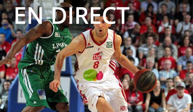 Match CSP Limoges - SIG Strasbourg en direct Tv