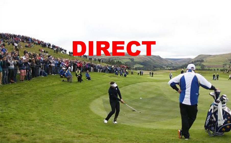 Regarder 2e journée Ryder Cup 2014 en direct et résumé vidéo Golf en streaming