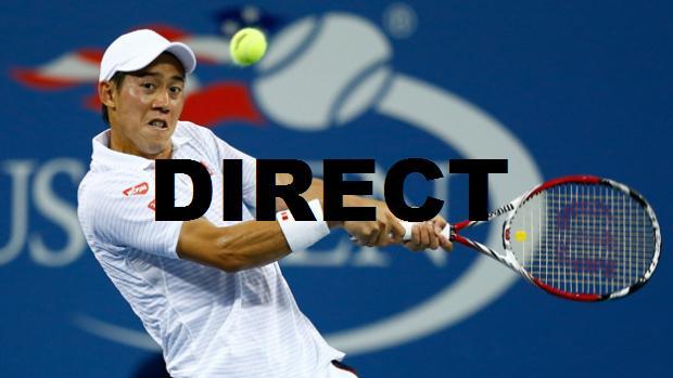 Retransmission finale US Open 2014 en direct streaming et replay vidéo match Nishikori Cilic
