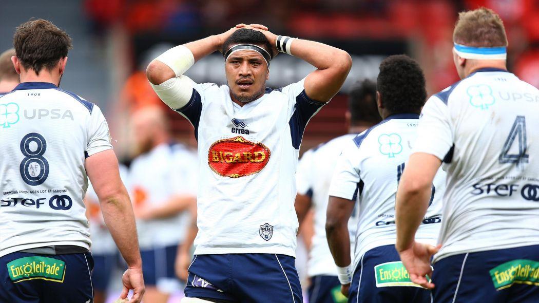 Le Top 14 de rugby 2015-2016 se sépare d'Oyonnax et du SU Agen