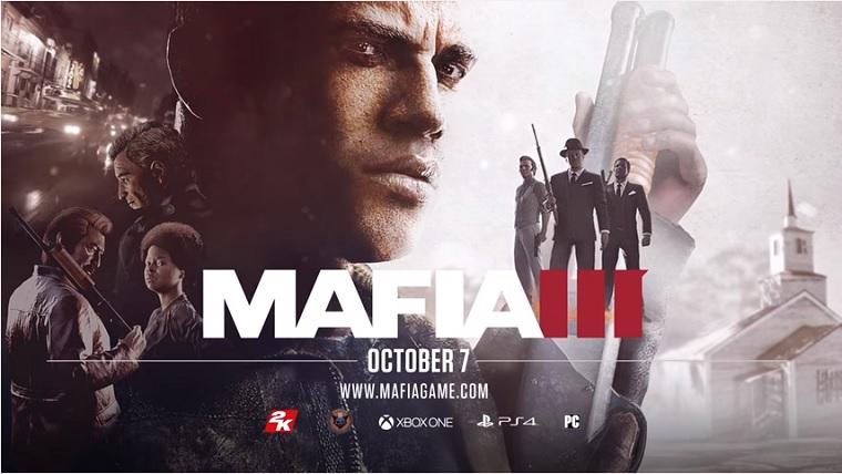 Mafia 3 prépare son arrivée et se dévoile dans une vidéo de gameplay