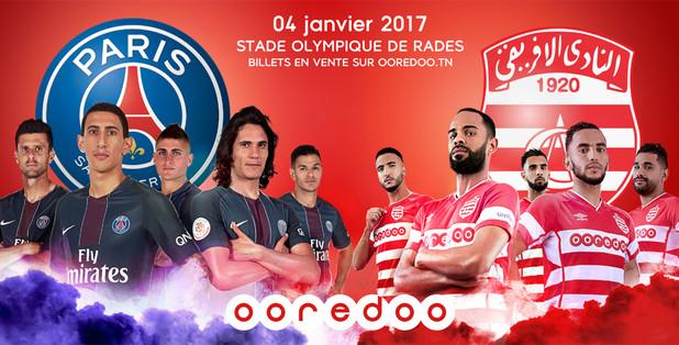 Résultat et score match Club Africain Paris Saint-Germain : Résumé vidéo et replay buts PSG Trophée Ooredoo des Champions
