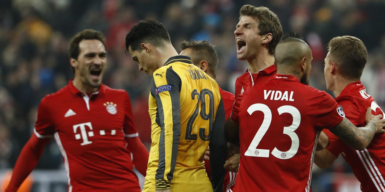 Comment voir la Ligue des Champions en direct TV : Replay vidéo et résultat match Arsenal Bayern Munich et Naples Real Madrid
