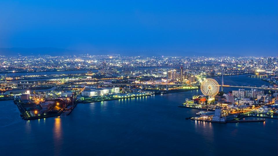 Osaka Port Japon Travel
